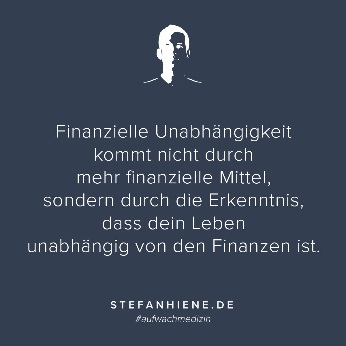 Finanzielle Unabhängigkeit Kommt Nicht Durch Mehr Finanzielle Mittel