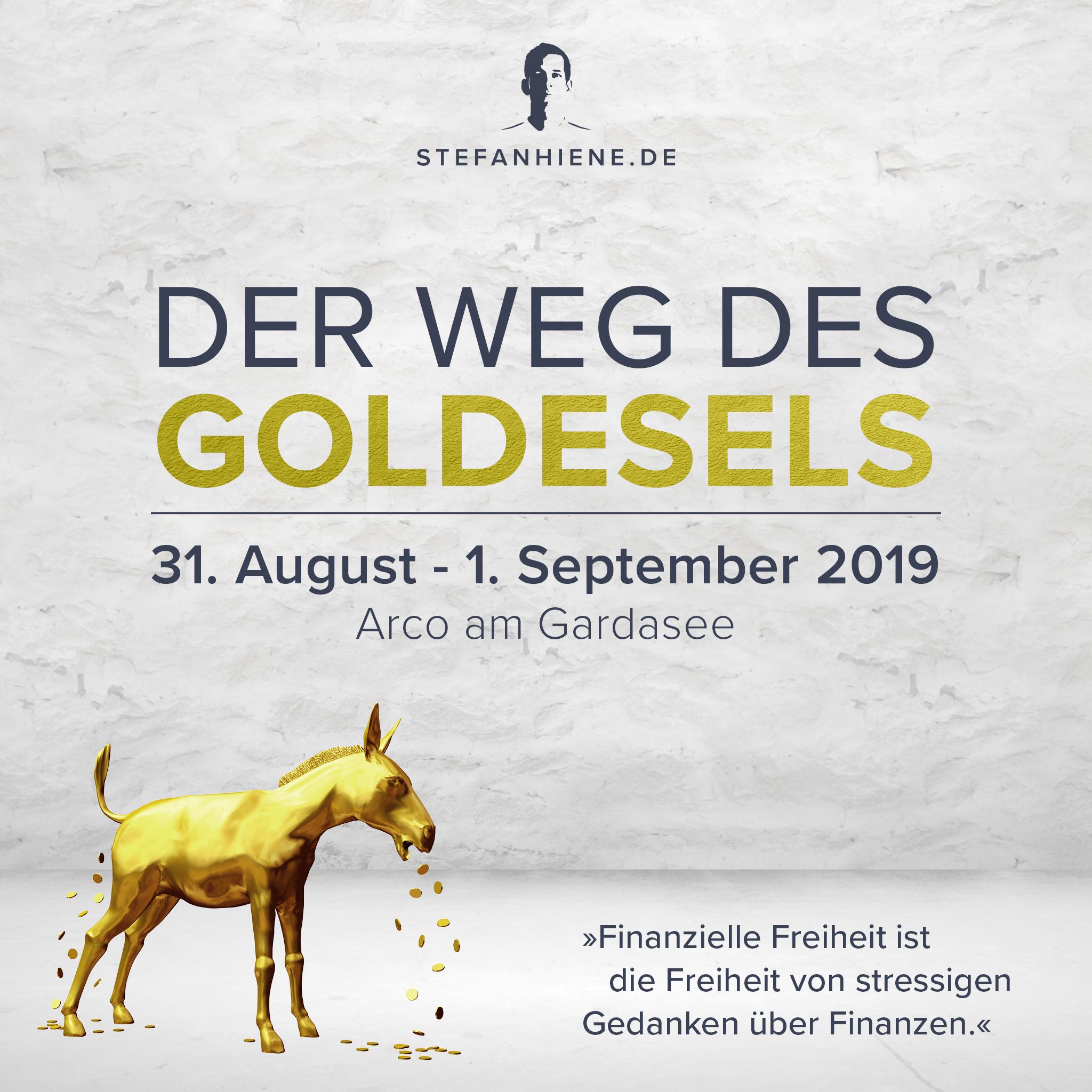 Der Weg des Goldesels